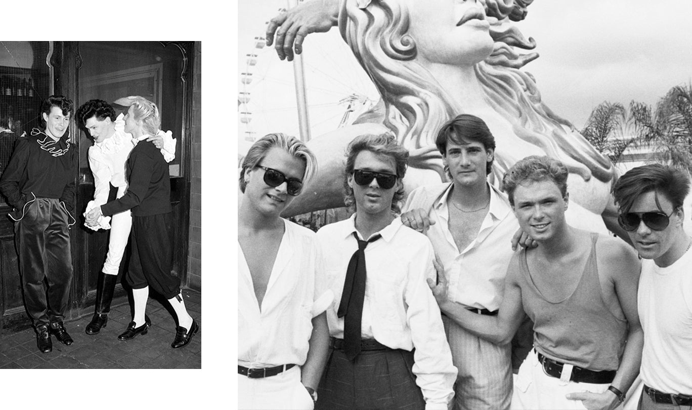 Blitz Kids and Spandau Ballet