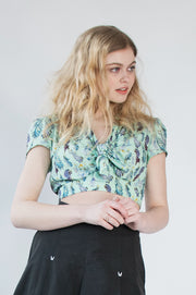 RAPTURE BLOUSE - MINT