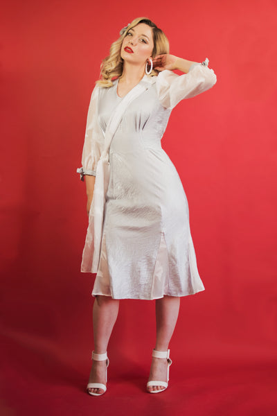 SERAPHINA DRESS - SILVER