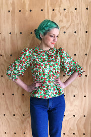 Strawberry Fields Blouse