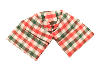 Red and Green Gingham Bow