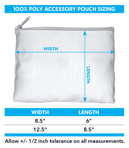 Square Accessory pouch chart
