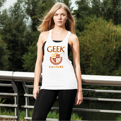 Geek Culture Loose Racerback Tank Top