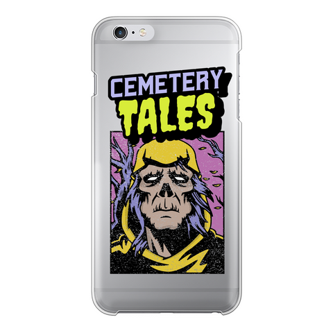 Cemetery Tales Transparent Hard Phone Case