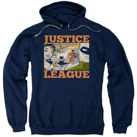 Justice League New Dawn Hoodie Navy