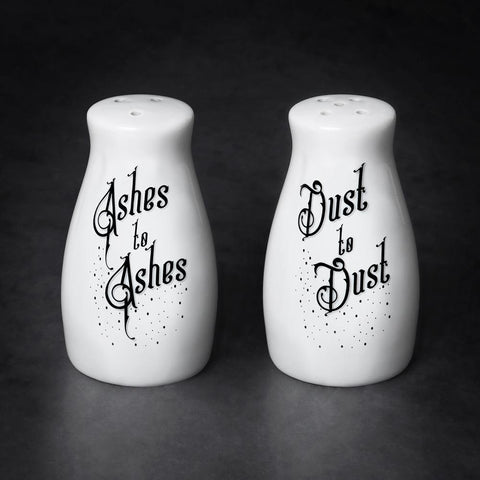 Ashes And Dust Salt & Pepper Shakers