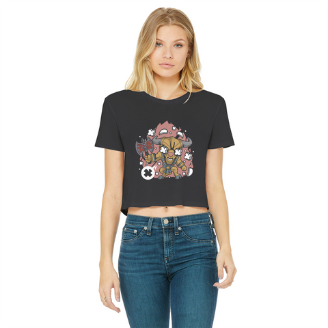 Minotaur Cropped Edge T-Shirt