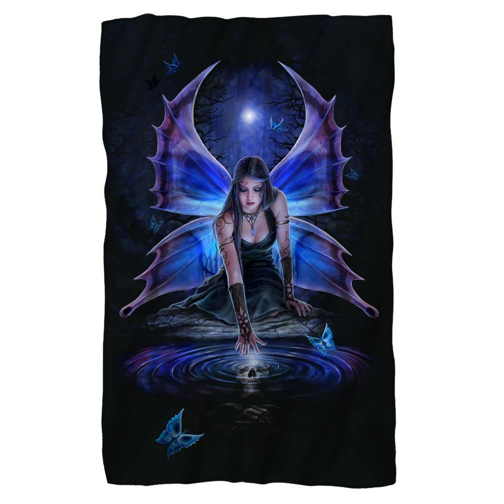 Dark Fairy Fleece Blanket
