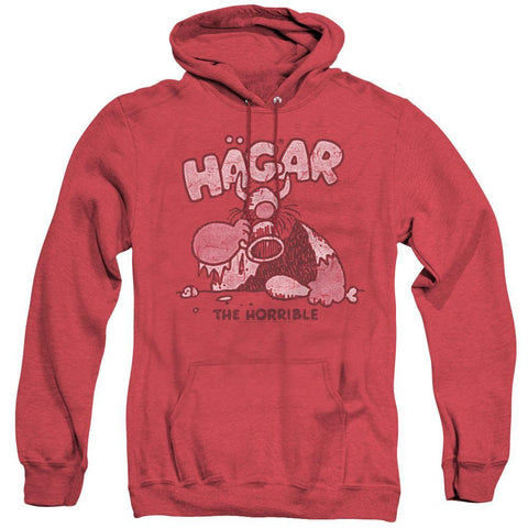 Hagar The Horrible Hoodie Heather Red