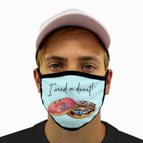 Need a Donut Mask with Filter Pocket
