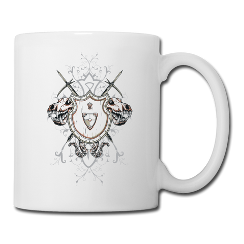 Good Or Evil Coffee Mug - white