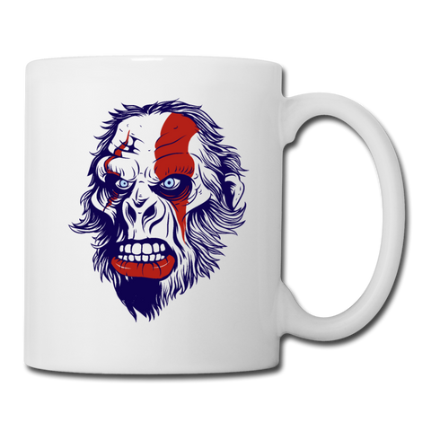 God Of Ape Coffee Mug - white