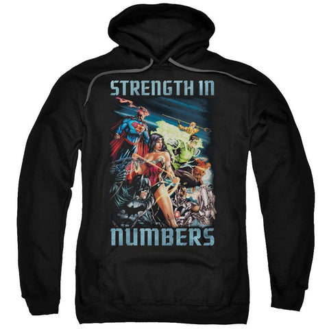 Strength In Numbers Hoodie Black
