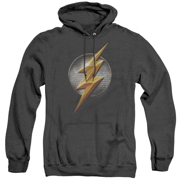 The Flash Logo Hoodie Heather Gray