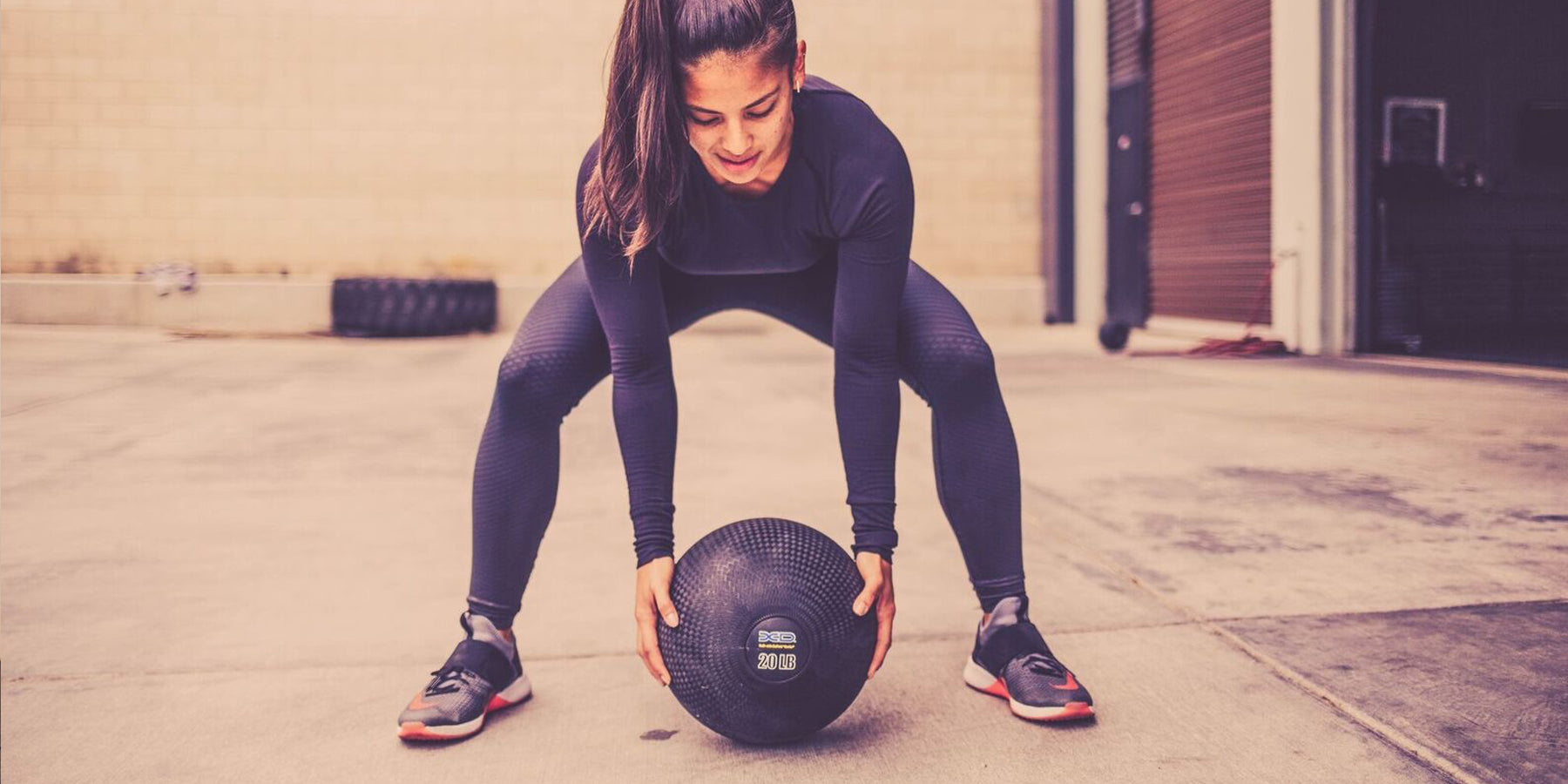Kevlar Rubber Medicine Ball
