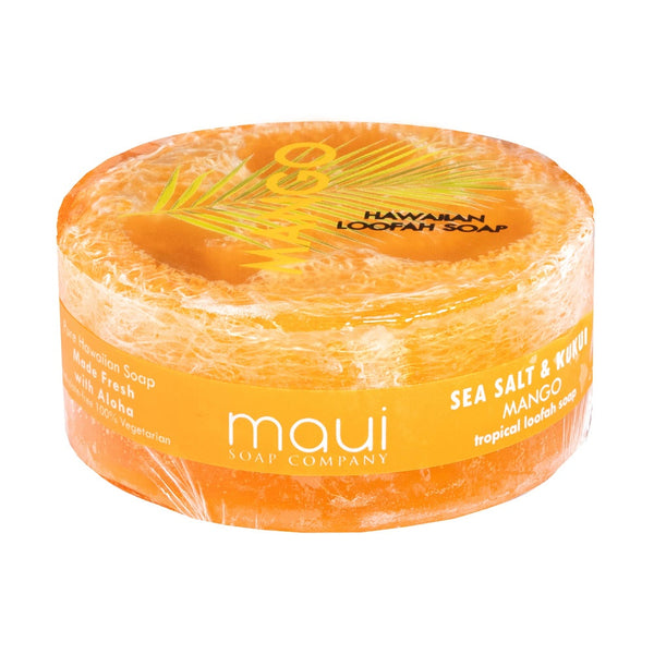 Mango Scented 4.7 oz Hawaiian Loofah Soap