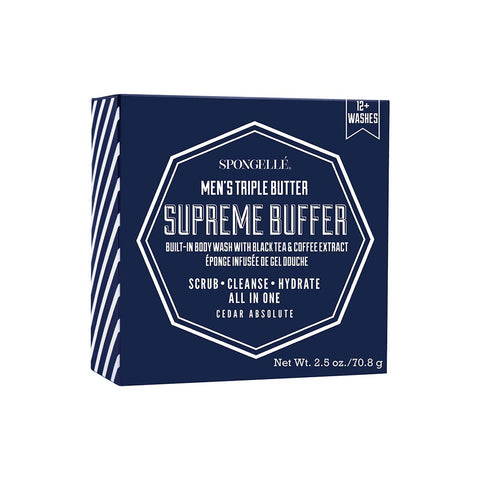 12+ Men's Supreme Buffer – Cedar Absolute By Spongelle