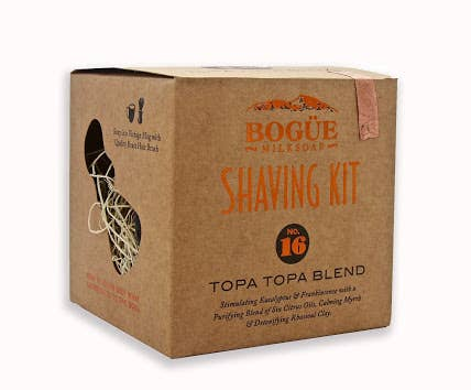No 16 Topa Topa Blend Shave Soap Kit By Bogue Milk Soap