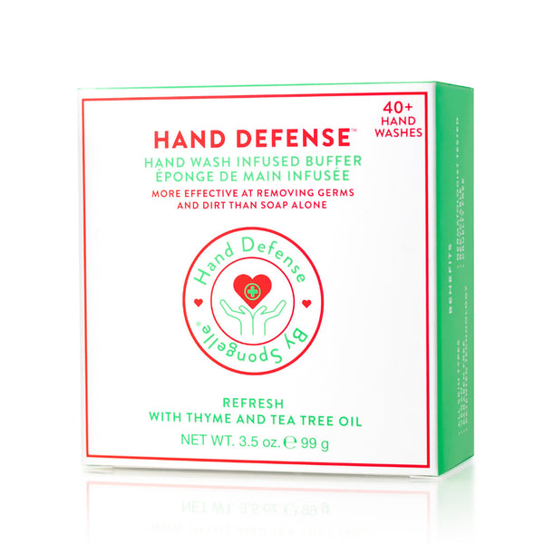 Hand Defense Hand Wash Buffer – Refresh (Thyme & Tea Tree) By Spongelle