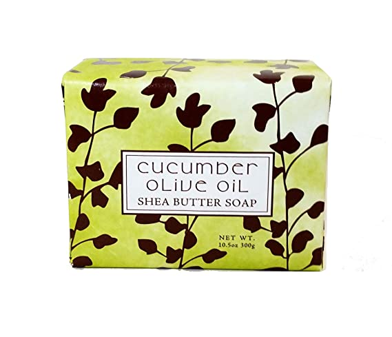 Cucumber Olive Scented Bar Soap 10.5 oz