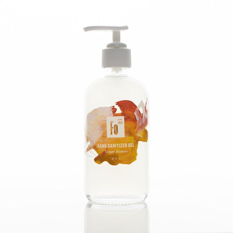 Ginger Blossom Scented 8 oz Hand Sanitizer