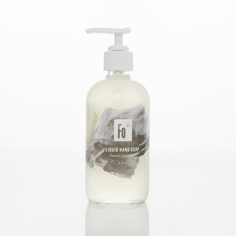 French Lavender Scented 8 oz Liquid Soap By Formulary 55