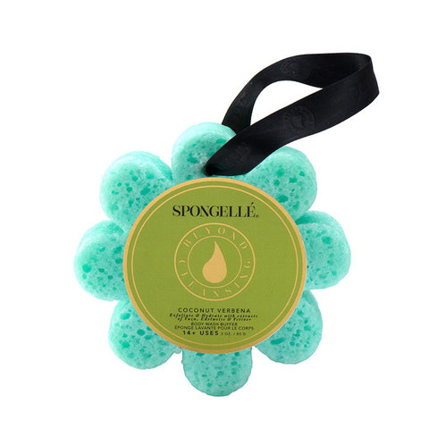 Wild Flower Soap Sponge – Coconut Verbena By Spongelle