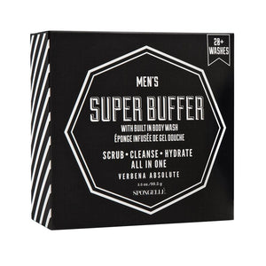 20+ Men's Super Buffer – Verbena Absolute By Spongelle