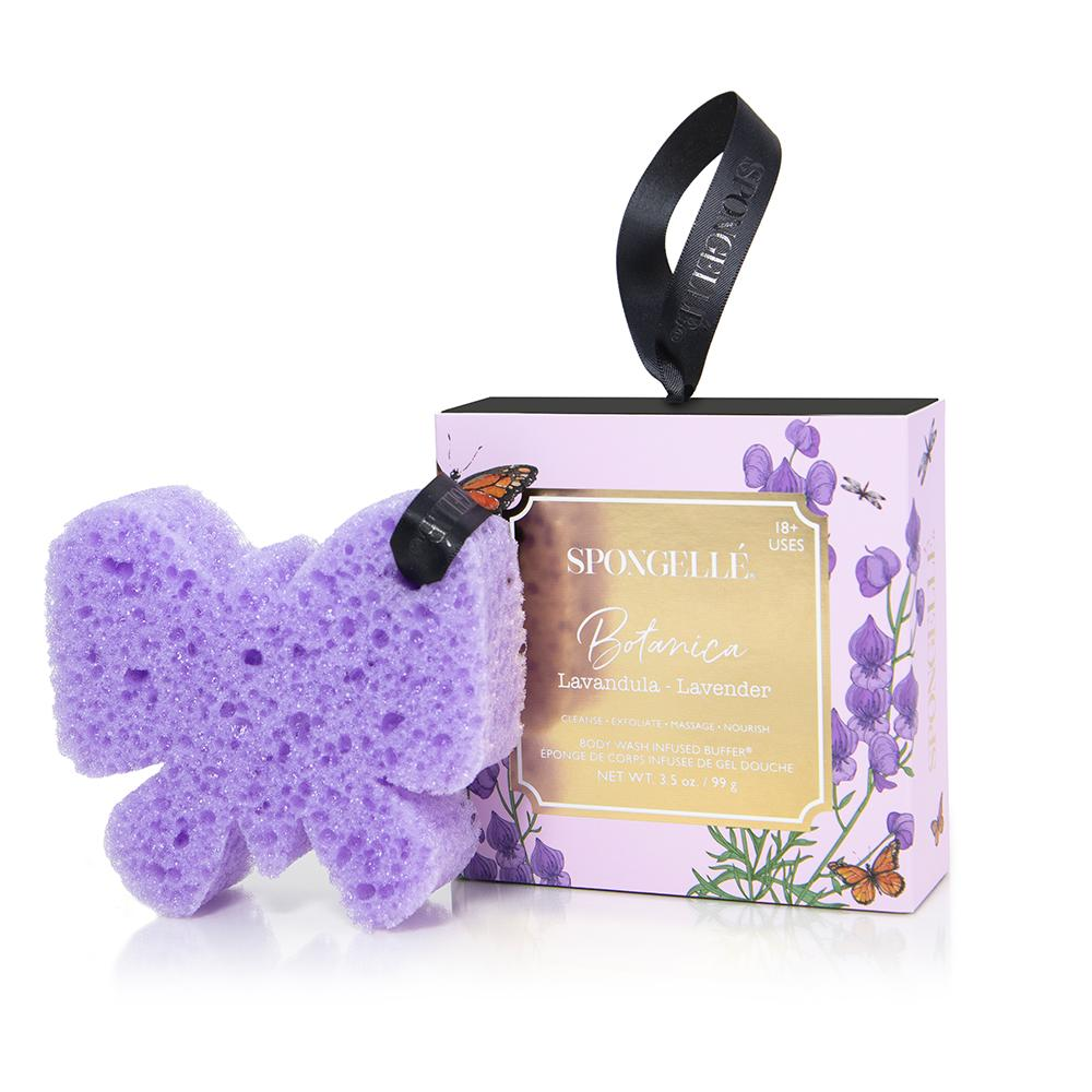 Botanica Body Buffer – Lavender By Spongelle