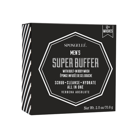 12+ Men's Super Buffer – Verbena Absolute By Spongelle