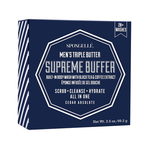 20+ Men's Extreme Buffer - Cedar Absolute By Spongelle