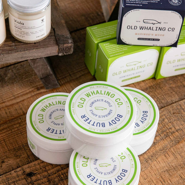 Admirals Apple Scented 8 oz Body Butter Collection
