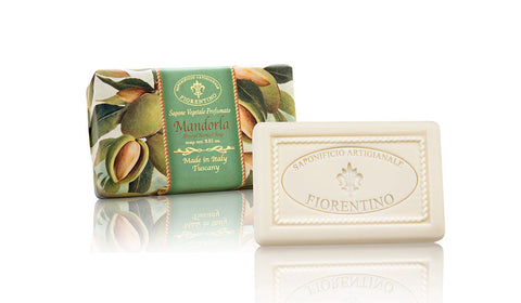 Almond (Mandorla) 8.81 Oz Soap Bar By Saponificio Artigianale Fiorentino