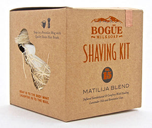 No 15 Matilija Blend Shave Soap Kit