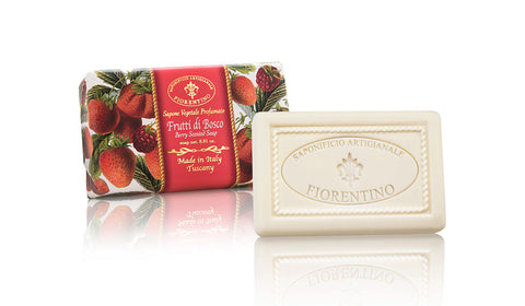 Berry (Frutti di Bosco) 8.81 Oz Soap Bar 8.81 Oz Soap Bar By Saponificio Artigianale Fiorentino