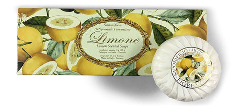Lemon (Limone) Soap Set