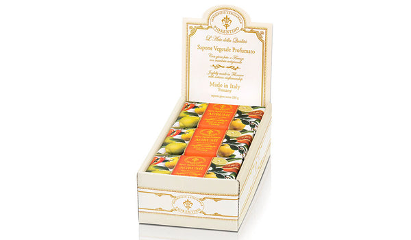 Citrus (Agrumi) Scented 8.81 oz Soap Bar Box
