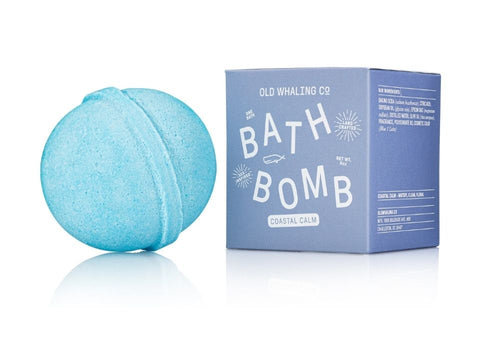 Coastal Calm Scented 8 oz Bath Bomb By Old Whaling Company