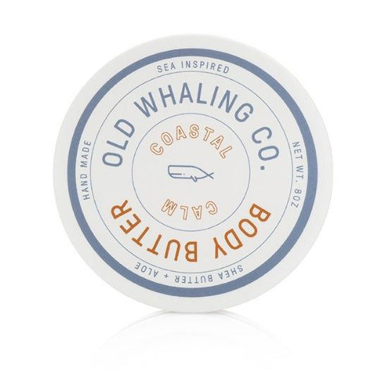 Coastal Calm Scented 8 oz Body Butter By Old Whaling Company