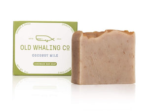 Coconut Milk Scented 5 oz Bar Soap By Old Whaling Company