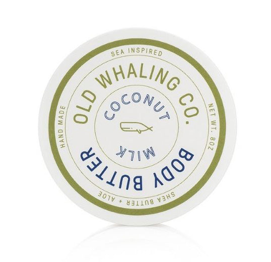 Coconut Milk Scented 8 oz Body Butter By Old Whaling Company