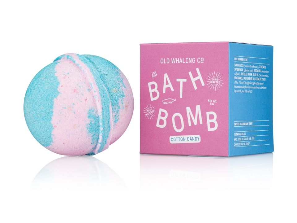 Cotton Candy Scented 8 oz Bath Bomb