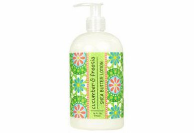 Cucumber & Freesia Scented Shea Butter Lotion 16 oz