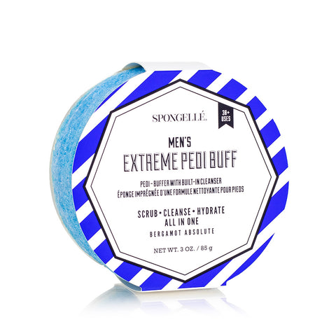 Men's Extreme Pedi  Buffer - Bergamot Absolute By Spongelle