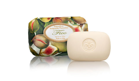 Fig (Fico) Scent 7.05 oz Soap Bar By Saponificio Artigianale Fiorentino