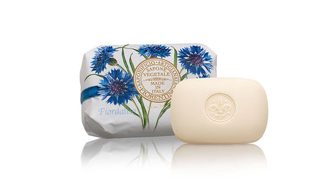 Cornflower (Fiordaliso) 7.05 oz Soap Bar By Saponificio Artigianale Florentino