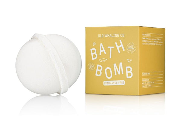 Fragrance Free Bath Bomb By Old Whaling Company