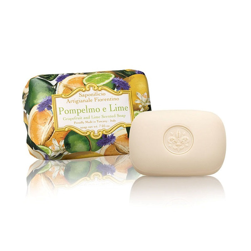 Grapefruit and Lime (Pompelmo e Lime) Single Soap