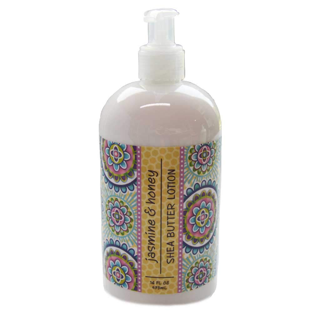 Jasmine & Honey Scented Shea Butter Lotion 16 oz