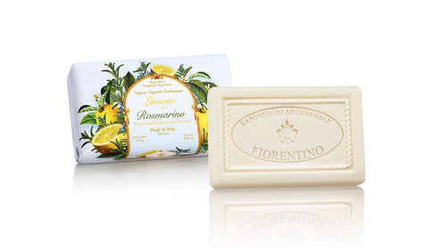 Lemon & Rosemary (Limone & Rosmarino ) 8.81 Oz Soap Bar By Saponificio Artigianale Fiorentino